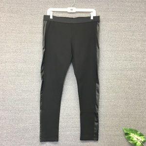 Aeropostale Black Faux Leather Leggings XL